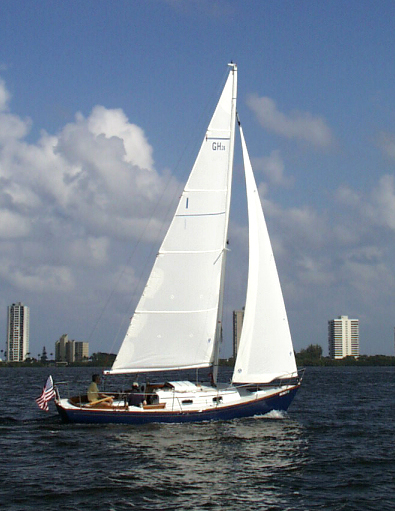 Diligent sailing in Florida